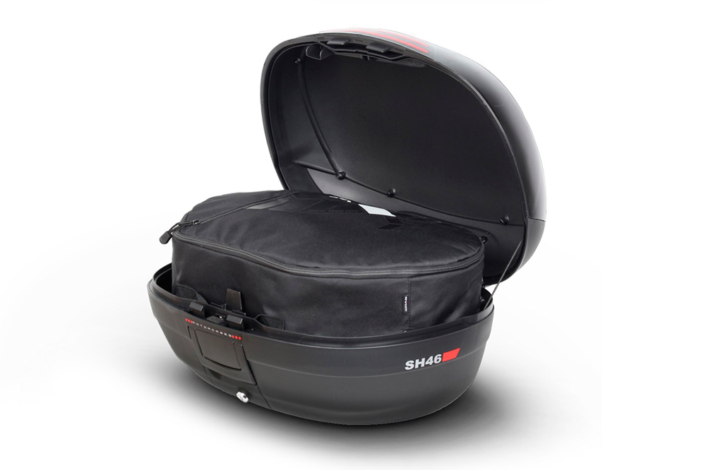 Baúl moto SHAD SH46 capacidad interior