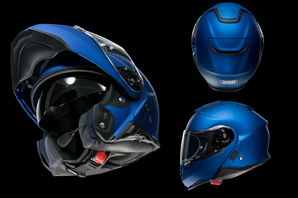 Casco Shoei NEOTEC II azul