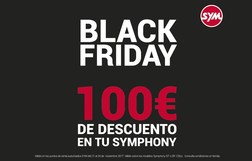 Black Friday de SYM en los Symphony SR Top 125i y Symphony ST 125i