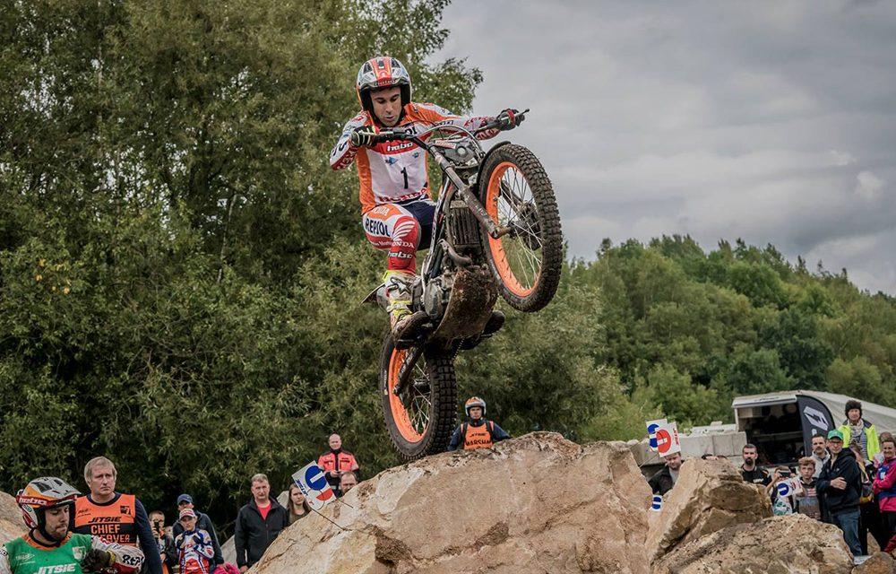 Toni Bou cierra el Campeonato de España de Trial con una nueva victoria en TR1