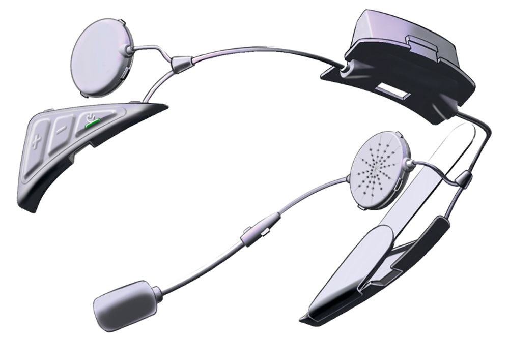 Casco Shoei Neotec-II sistema intercom