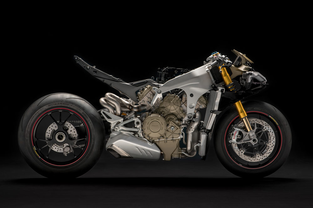Ducati Panigale V4, chasis