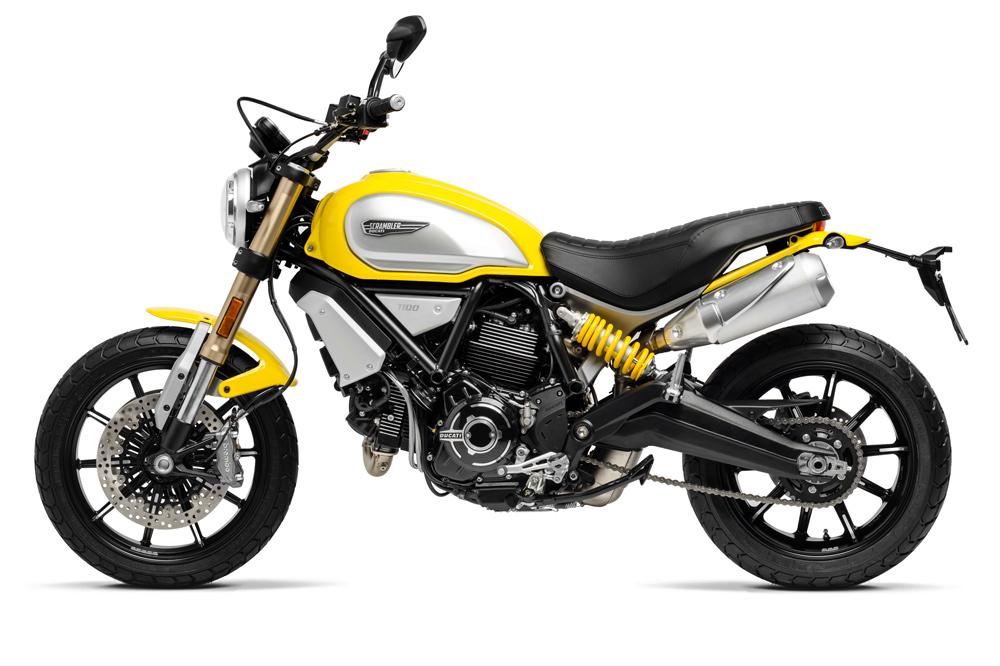 Versión básica de la Ducati Scrambler 1100