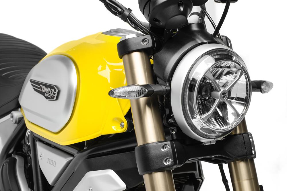 Ducati Scrambler 1100, faro delantero