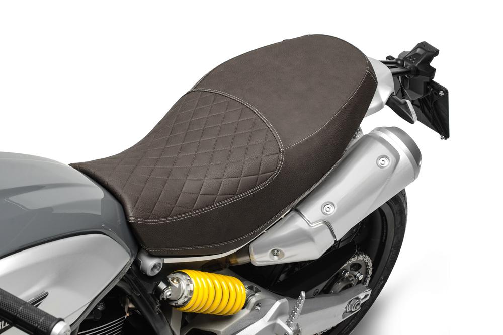 Ducati Scrambler 1100 Special, asiento