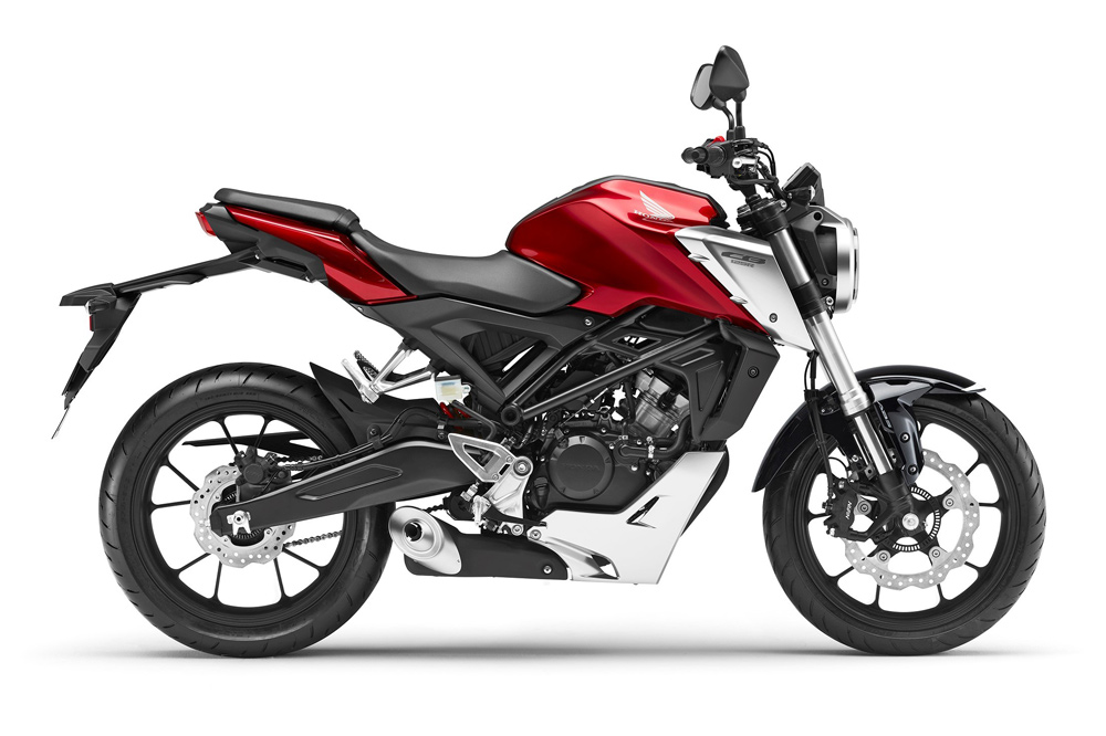 Moto Naked Honda CB 125 R