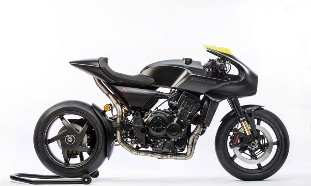 Honda CB4 Interceptor: Cafe Racer de vanguardia