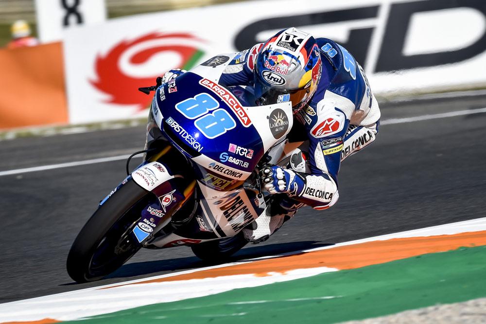 Jorge Martin, victoria en Moto3 en el GP de Valencia
