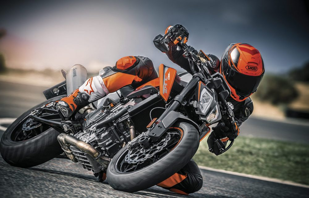 KTM 790 Duke 2018: Excitante