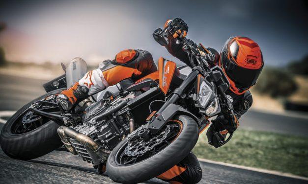 KTM 790 Duke 2018: Excitante