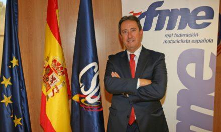 Manuel Casado, nuevo presidente de la Federación Española de Motociclismo RFME