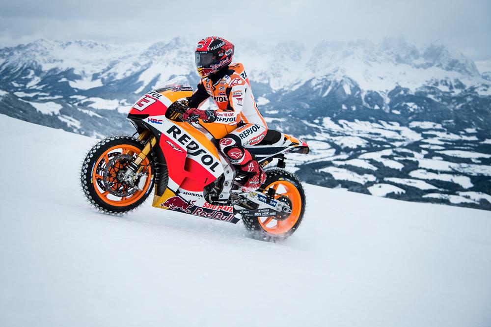Consejos para circular en moto en invierno