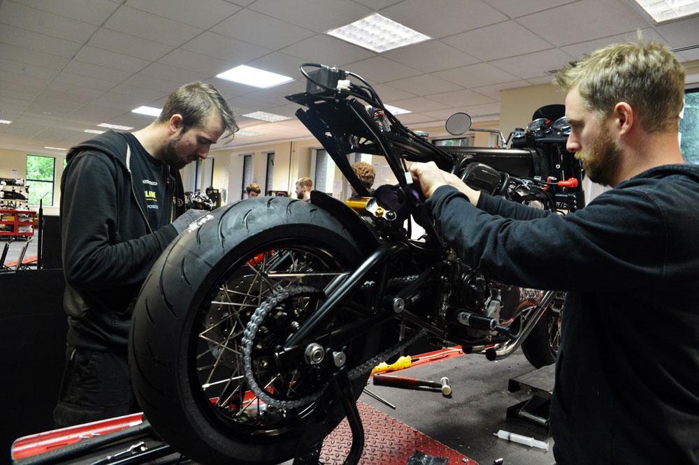 Nuevos planes de Norton para la fabricación de motos