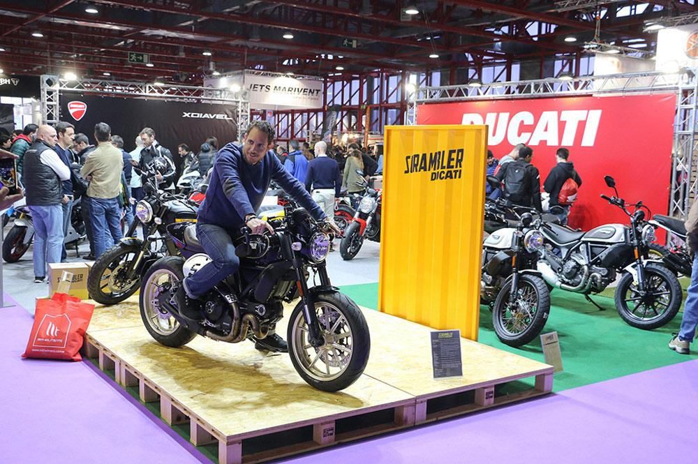 Ducati, en el Salón MotoMadrid 2017