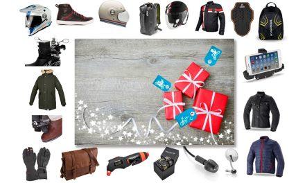 20 ideas moteras para regalar en Navidad