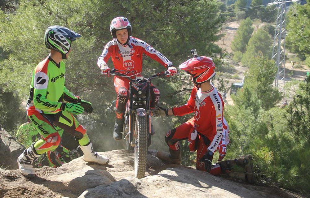 Última prueba del Campeonato de España de Trial