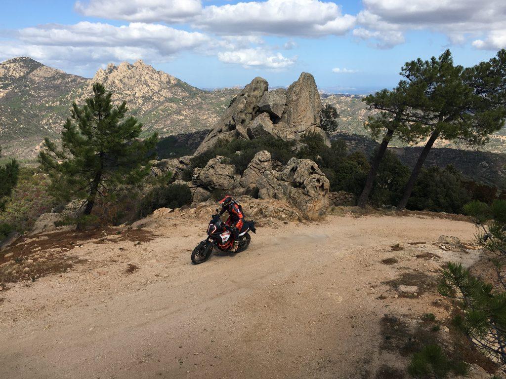 KTM Adventure Rally 2018 en Cerdeña