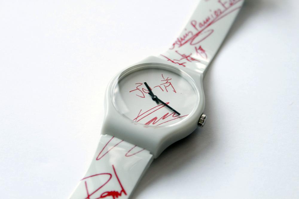 Reloj Unión Suiza diseño Curro Claret