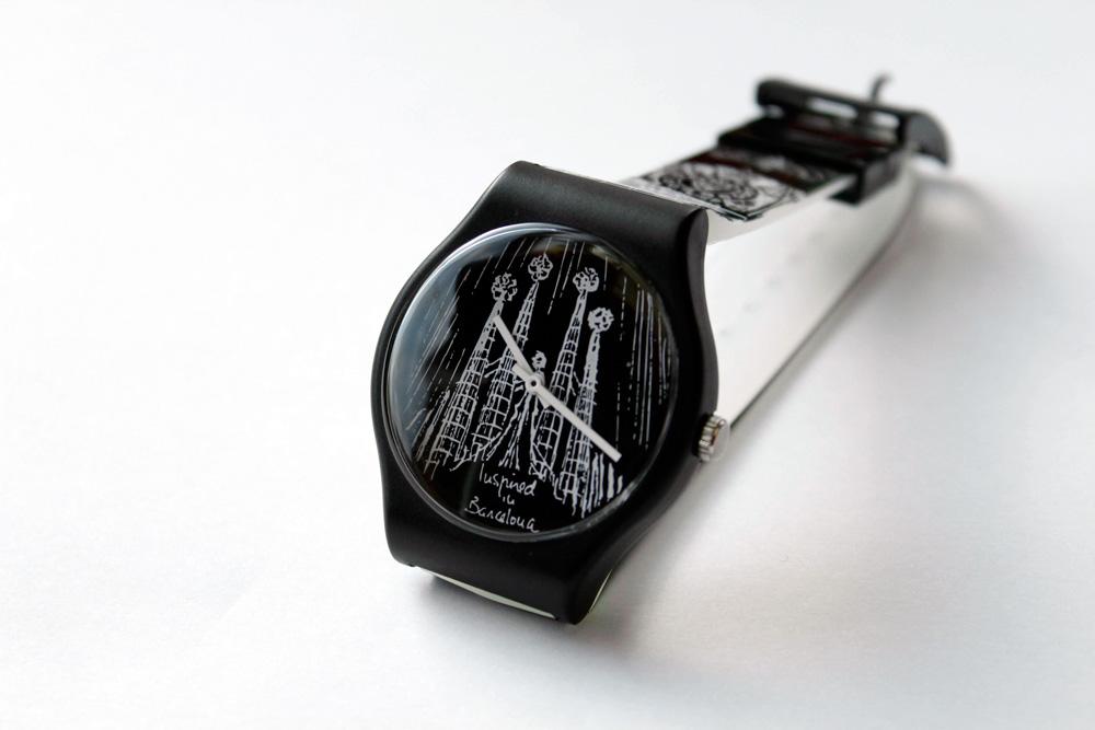 Reloj Unión Suiza diseño Miquel Fuster