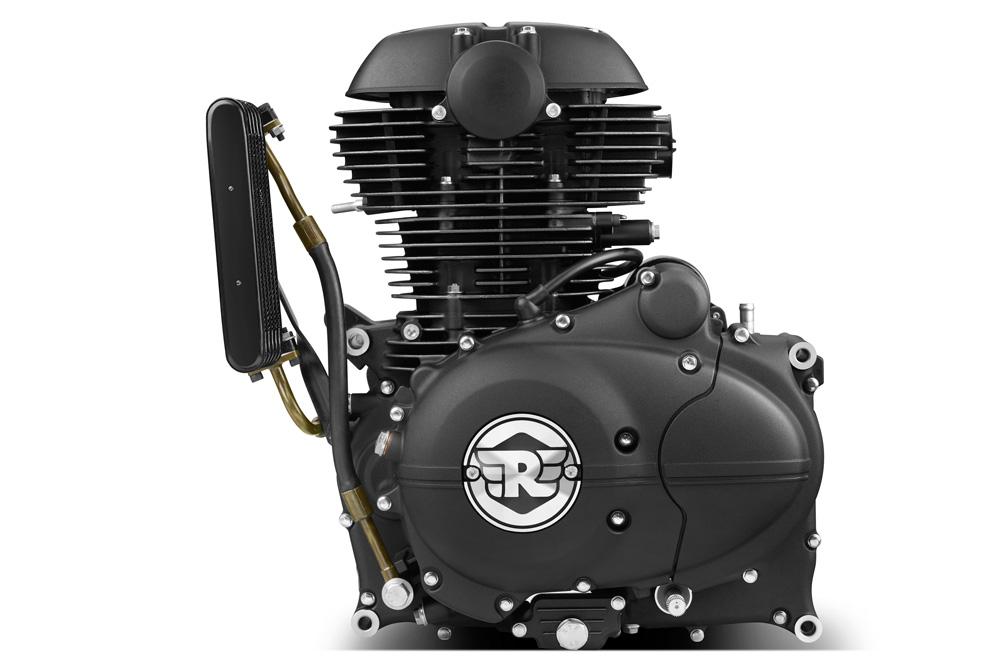 Motor de la Royal Enfield Himalayan 410