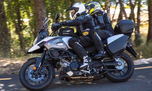 Las nuevas Suzuki V-Strom 1000, ahora con kit de maletas de regalo