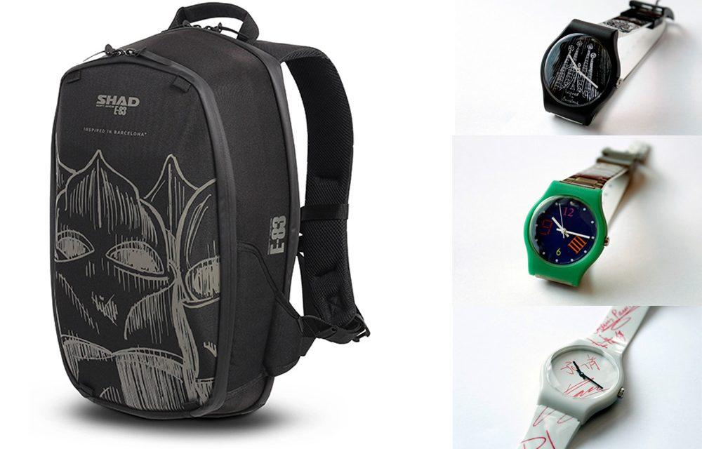 Shad y Unión Suiza presentan una mochila y tres relojes inspirados en Barcelona