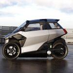 PSA está desarrollando un scooter de tres ruedas eléctrico