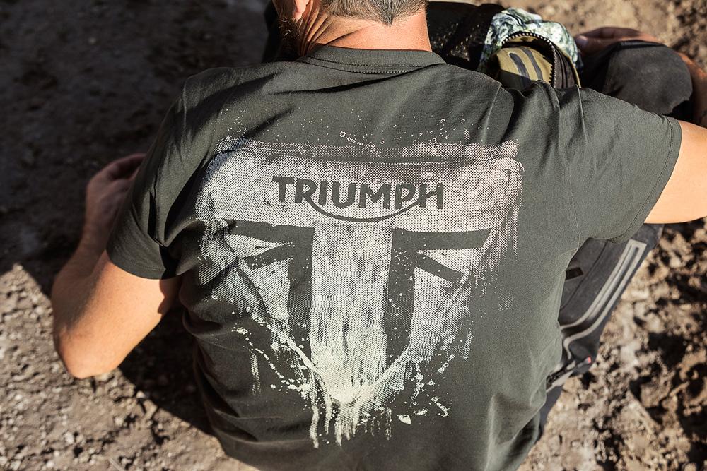 Camiseta Triumph nueva colección 2018