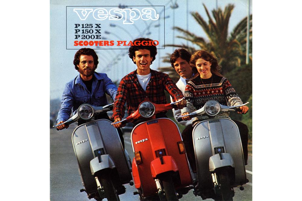 40 años de la Vespa PX