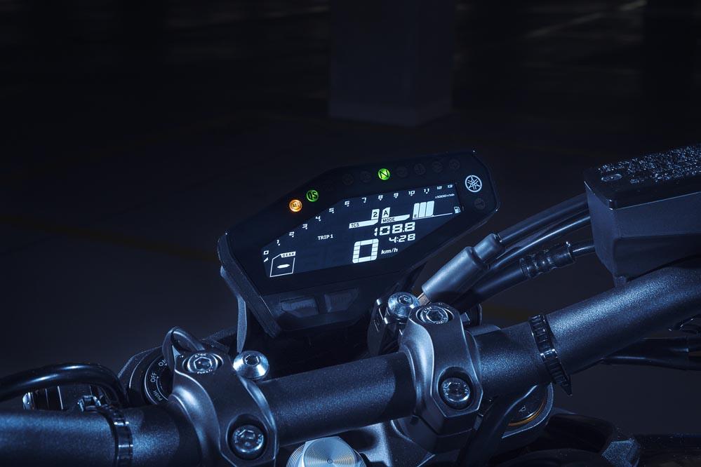 Yamaha MT 09 SP 2018, cuadro de instrumentos