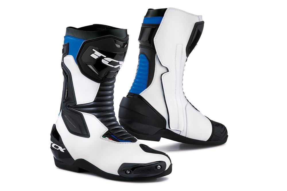 Botas deportvias SP Master de TCX en blanco y azul