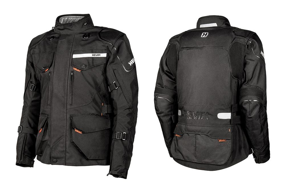 Chaqueta para moto Titanium de Hevik negro
