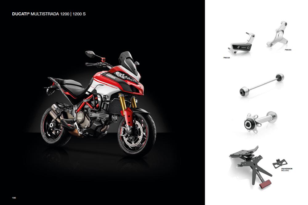 Accesorios Rizoma para Ducati Multistrada