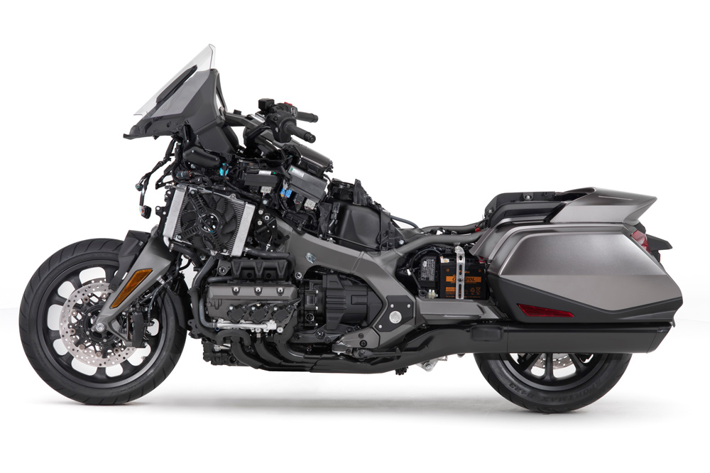 WESA-Systeme vonWilbers Products GmbH - Honda GL 1800