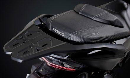 Parrilla trasera original para el KYMCO AK 550