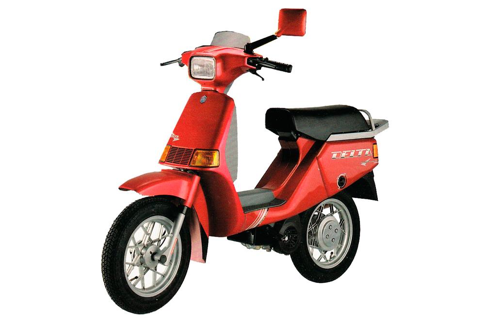 Moto Vespa Delta