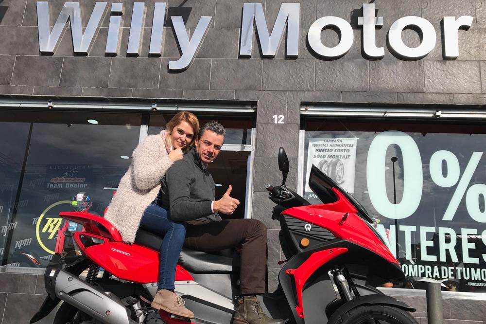 Concesionarios WillyMotor Quadro de Sevilla