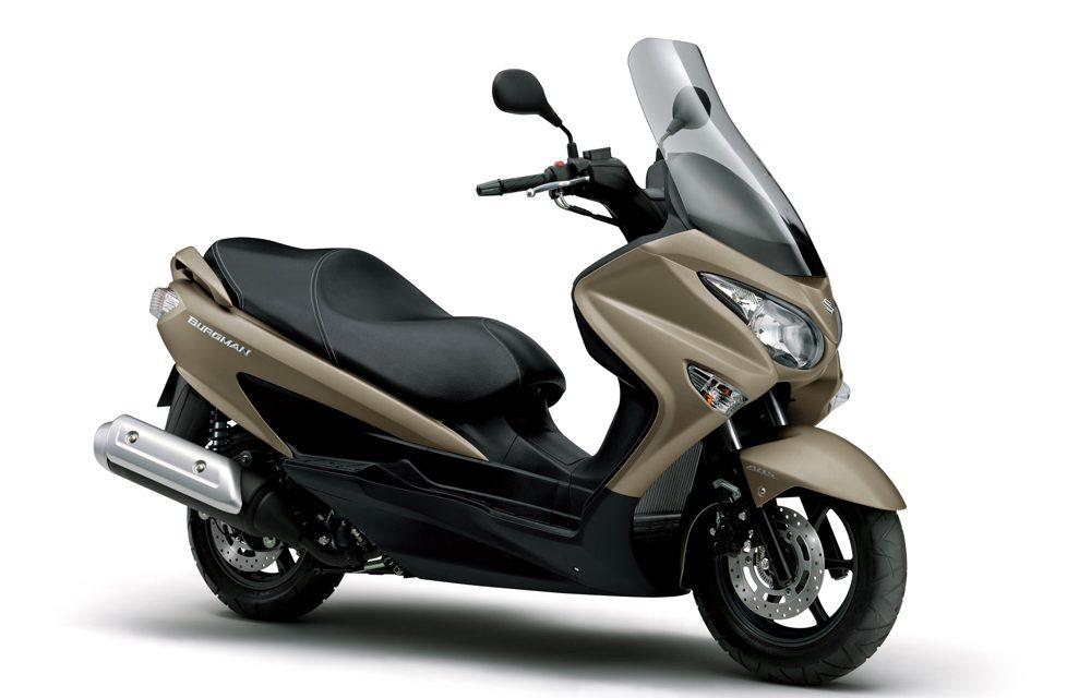Suzuki Burgman 125 y 200, ahora con el seguro gratis