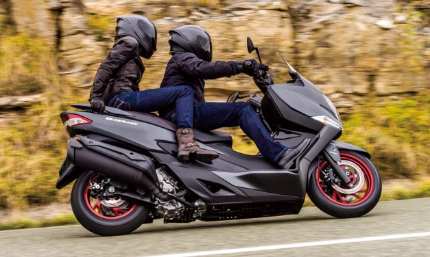 Llévate el nuevo Suzuki Burgman 400 por 6.999 euros