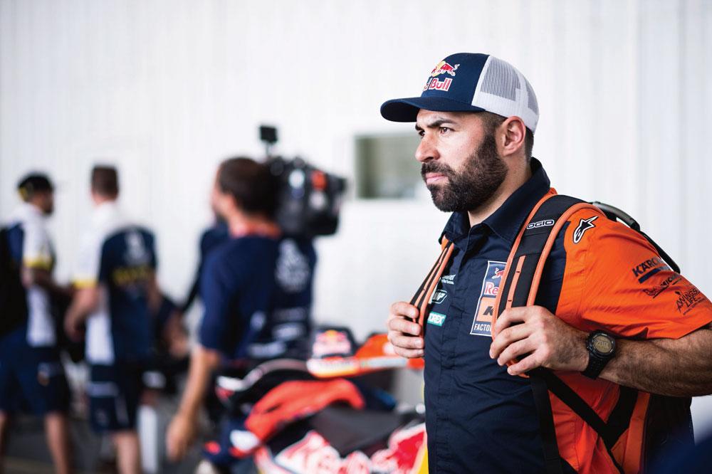 Antoine Meo. victoria en la octava etapa del Rally Dakar 2018