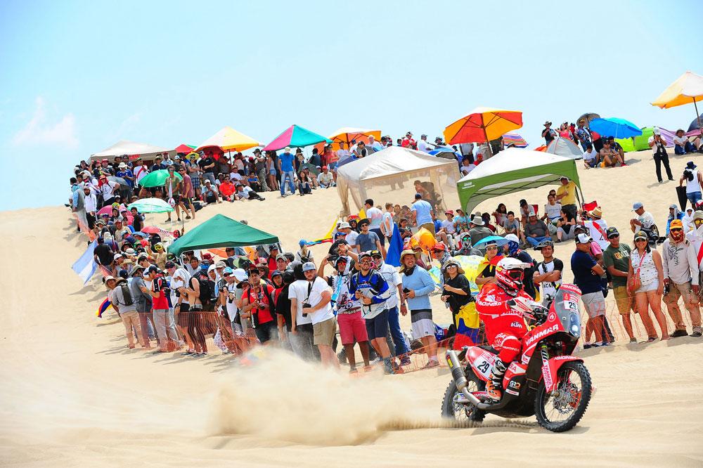 Dani Oliveras fue el mejor español clasificado en la cuarta etapa del Dakar 2018