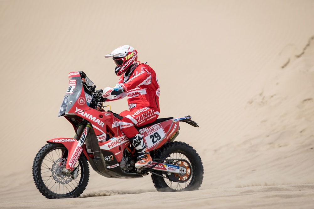 Dani Oliveras fue el mejor piloto español en la sexta etapa del Rally Dakar