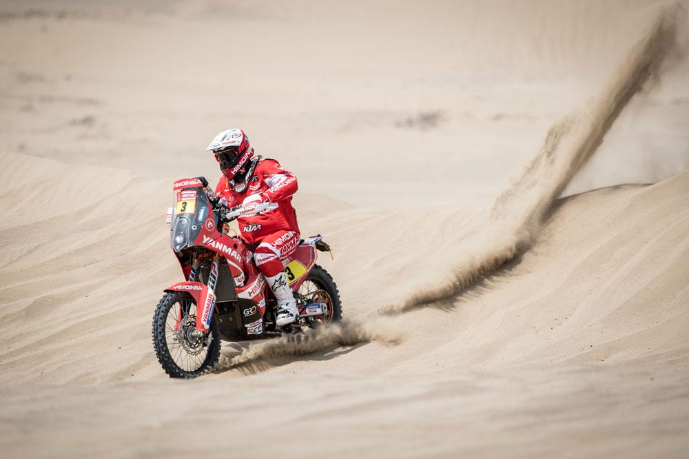 Tercera posición para Gerard Farres en la décima etapa del Rally Dakar
