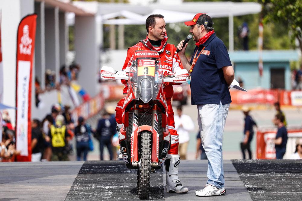 Gerard Farrés sigue siendo el mejor piloto español en el Rally Dakar 2018