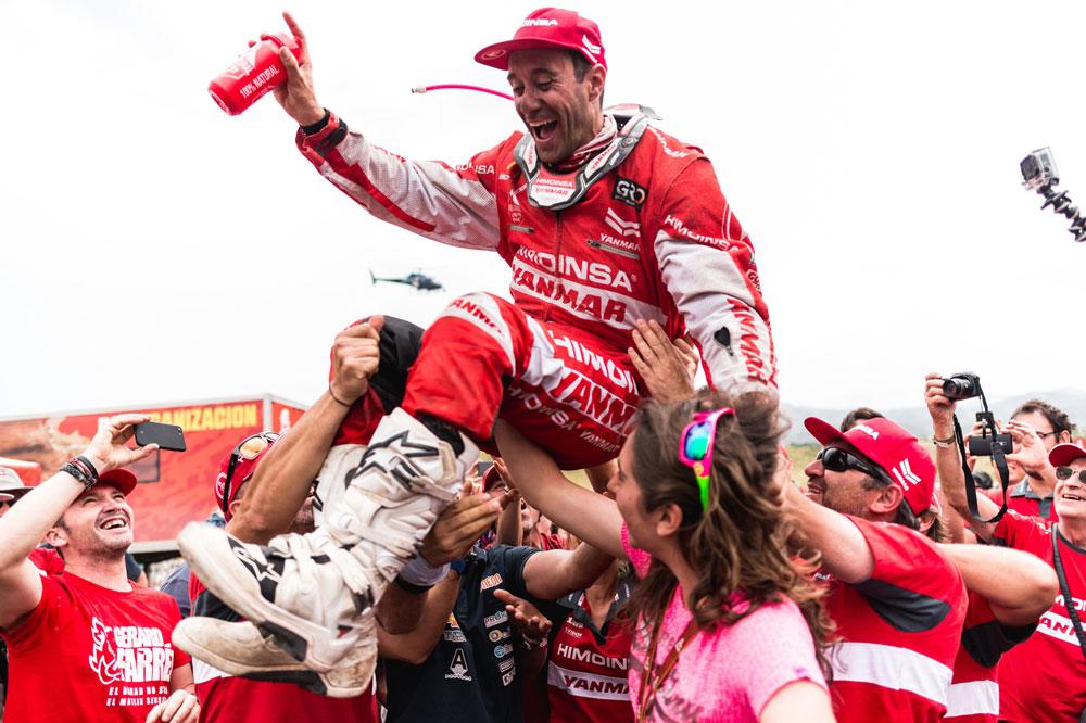 Gerard Farrés, mejor piloto español en el Dakar 2018