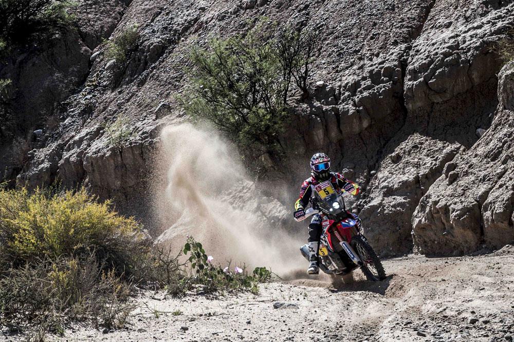 Joan Barreda es segundo en la clasificación general del Dakar 2018 tras la décima etapa