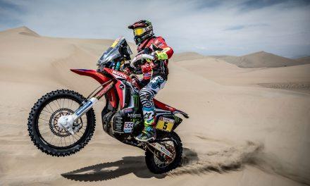 Rally Dakar 2018, segunda etapa. Barreda, líder