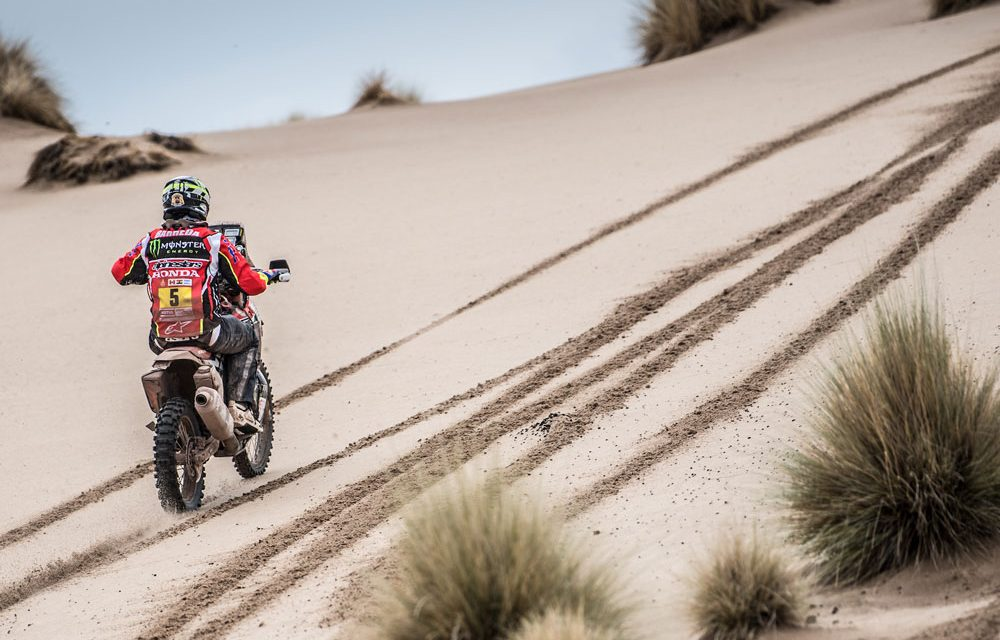 Dakar 2018, séptima etapa. Victoria de Barreda con posible lesión