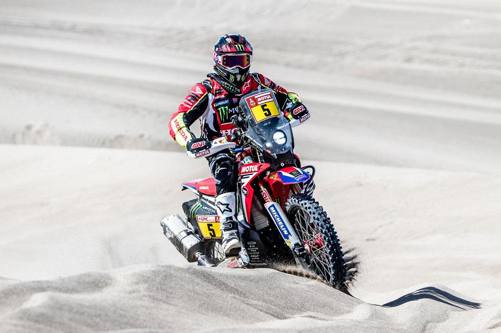 Joan Barreda sigue escalando posiciones en la General del Dakar 2018