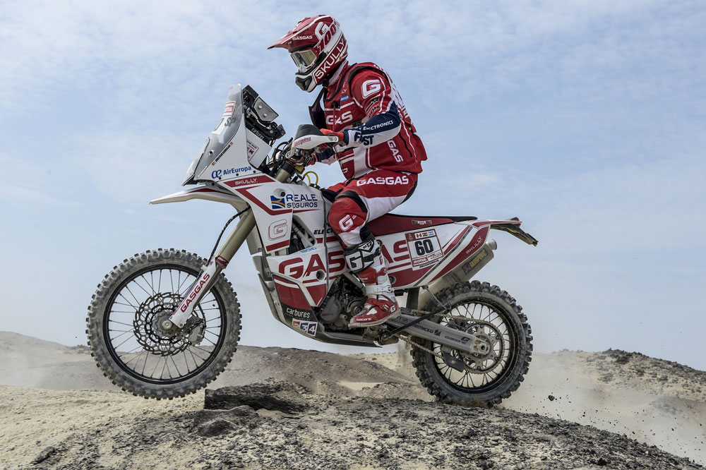 Jonathan Barragán, Dakar 2018